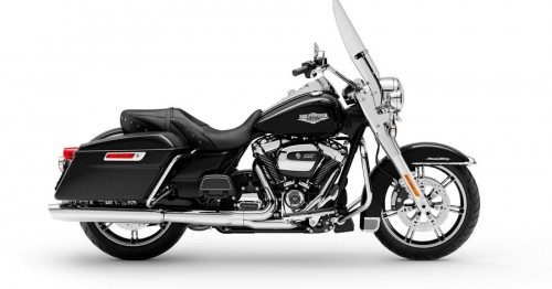 FLHR ROAD KING VIVID BLACK