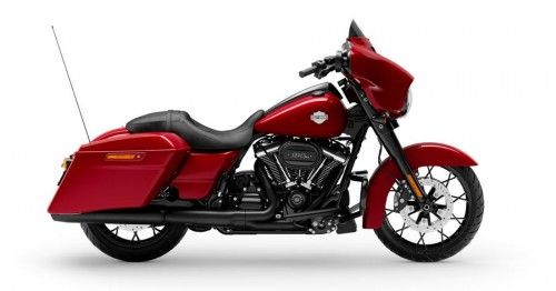 FLHXS STREET GLIDE SPECIAL BILLIARD RED / BLACK FINISH