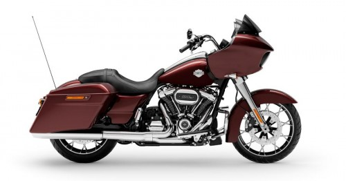 FLTRXS ROAD GLIDE SPECIAL MIDNIGHT CRIMSON / CHROME FINISH